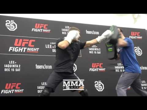 Xxx Mp4 UFC On FOX 31 Al Iaquinta Open Workout Complete MMA Fighting 3gp Sex
