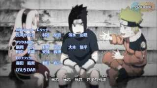 Naruto Shippuden Ending 24 Sayonara memory by 7 seven oops [HD]