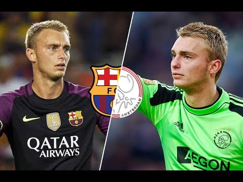 Jasper Cillessen in Ajax vs Jasper Cillessen in Barcelona l HD