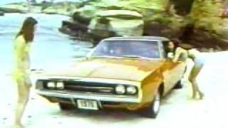 Banned Commercials 1970 Dodge Charger 500 vintage 70's
