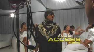 Fabolous behind the scenes of his Music Video