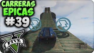 GTA V Online - Saltos y Rampas increíbles!! - Carreras Épicas #39 - Funny Moments GTA 5