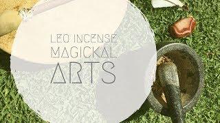 Leo Luncation Magickal Incense for August 2017