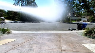 How to make a Powerful Water Cannon