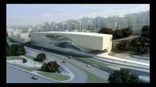King Abdullah II House of Culture © Zaha Hadid Architects