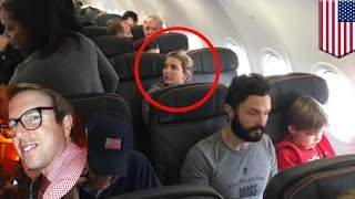 Ivanka Trump confronted by angry passenger on JetBlue flight who brags about it - TomoNews