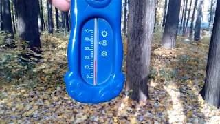 Осень в Москве. Температурный рекорд