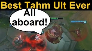 Greatest Tahm Kench Ult Ever - Makes Bard Look Like an Amateur