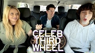 WHIPPED CREAM CHALLENGE W/ ALLI SIMPSON | CELEB THIRD WHEEL