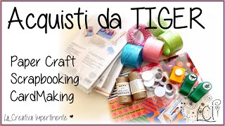 Dove acquistare materiale per Scrap/PaperCraft - TIGER sei mio !!!