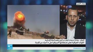 ما التكتيك الذي تتبعه القوات العراقية في معركة تلعفر؟
