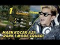 KOCAK MOMENTS! RANK #1 SQUAD MODE! - Rules Of Survival Indonesia