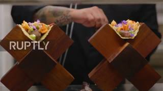 Mexico  This $25,000 GOLD garnished TACO is the world's most expensive