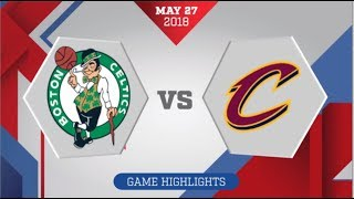 Cleveland Cavaliers vs Boston Celtics ECF Game 7: May 27, 2018