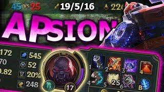Full AP Sion | BUFFED
