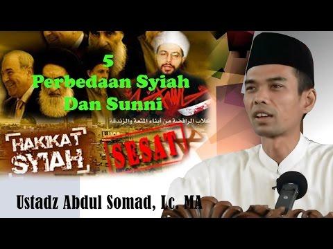 5 Perbedaan Syiah Dan SUNNI Beserta Cara Shalatnya - Ustadz Dr. Abdul Somad, Lc, MA.