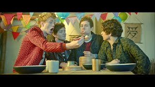 Behind the scenes at The Vamps music video Kung Fu Fighting