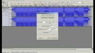 How To Alter A Voice To Sound Like A Chipmunk Voice ( audacity )