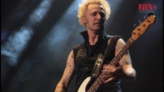 Green Day hizo vibrar al público en la clausura del Corona Capital