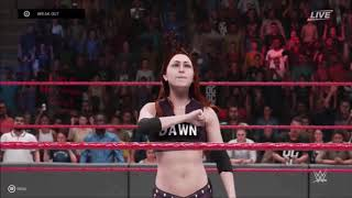 WWE 2K19 - All Women's Signatures And Finishers - Xbox One - Part 2