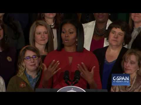 Complete Final speech by Michelle Obama as First Lady C SPAN