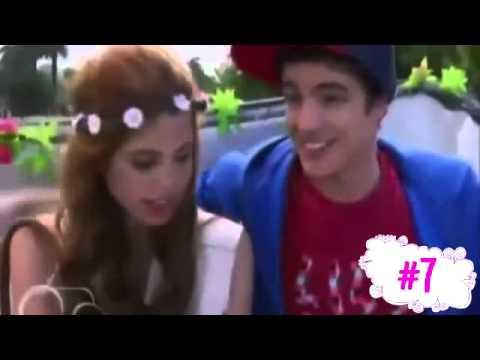 ☼►TOP De Besos De Violetta 1 y 2 Temporada☼☻
