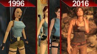 History of Tomb Raider Graphics (1996 - 2016) | PC | ULTRA