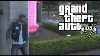 GTA 5 THUG LIFE #2 - SNEAKING INTO THE PLAYBOY MANSION!