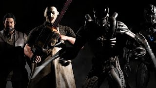 Alien & Leatherface - Mortal Kombat X - Kombat Pack 2 | official trailer (2016)