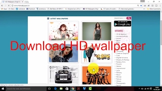 How to Download HD Wallpapers 720p 1080p 2K 4K 5K 8K