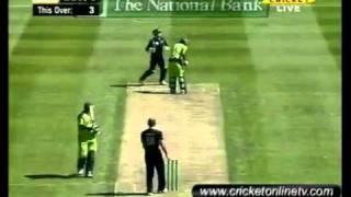 3rd odi Pakistan vs New zealand 29-01-2011 part 2