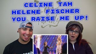 MOM & SON REACTION! Celine Tam Helene Fischer Show 2017 You Raise Me Up