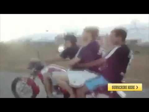 Caidas y accidentes con moto Funny Videos Videos Chingones