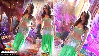 Tamannah Song Making At Speedunnodu Shooting Spot