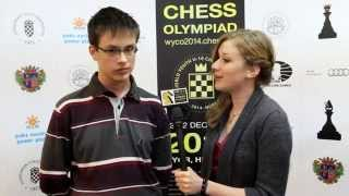 Interjú Kántor Gergely nemzetközi mesterrel - Ifjúsági Sakkolimpia, Győr
