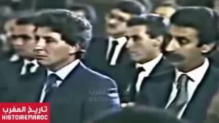 الحسن الثاني و القاصح للمهندسين المغاربة بالدارجة