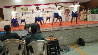 Best Dance performance at logic winners day celebration by ipcc batch 2016 - 17