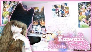 My Kawaii/Anime Bedroom! // Room Tour 2015 | SammieSpeaks