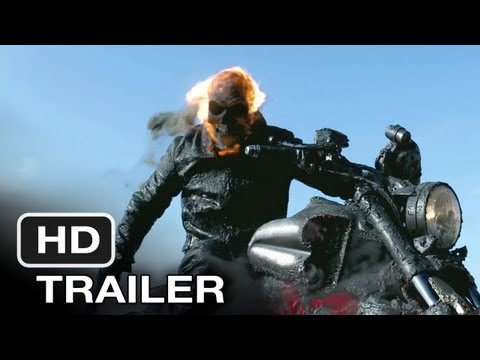 Ghost Rider Spirit of Vengeance Movie Trailer 2012 HD