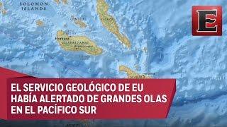 Alerta de tsunami en Islas Salomón por intenso sismo de 7.7 de magnitud