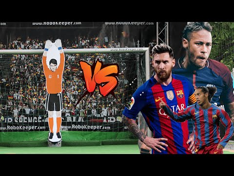 Xxx Mp4 Messi Neymar Jr And Ronaldinho Vs Robot Goalkeeper ● Amazing Moments 3gp Sex