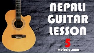Guitar Tutorial - Lesson 5 - Soloing Intro (Nepali)