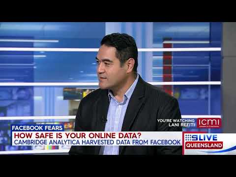Innovation & Technology: Lani Refiti - Channel 9 News discussion on Facebook and privacy
