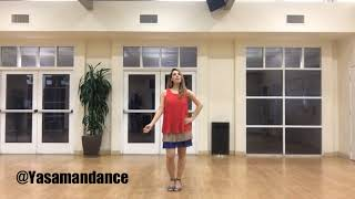 آموزش رقص ایرانی - خانومم- داوود چرگری - جلسه دوم - Amoozesh raghs Irani