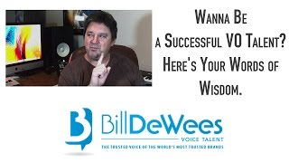 Wanna Be a Successful VO Talent?  Here
