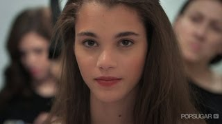 Model Beauty Transformation at BCBG Max Azria Fall 2013 | New York Fashion Week | Beauty Book