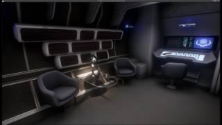 Inside the U.S.S. Enterprise NCC-1701 (Refit)