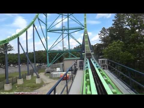 Kingda Ka (On-Ride) Six Flags Great Adventure