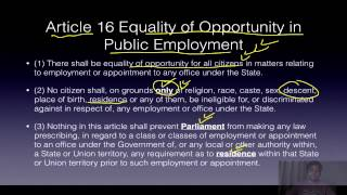 Polity Lecture for IAS UPSC 3.3 Fundamental Rights