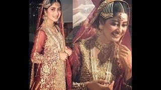 Sajjal ali WEDDING scene | O RANGREZA | HUM TV